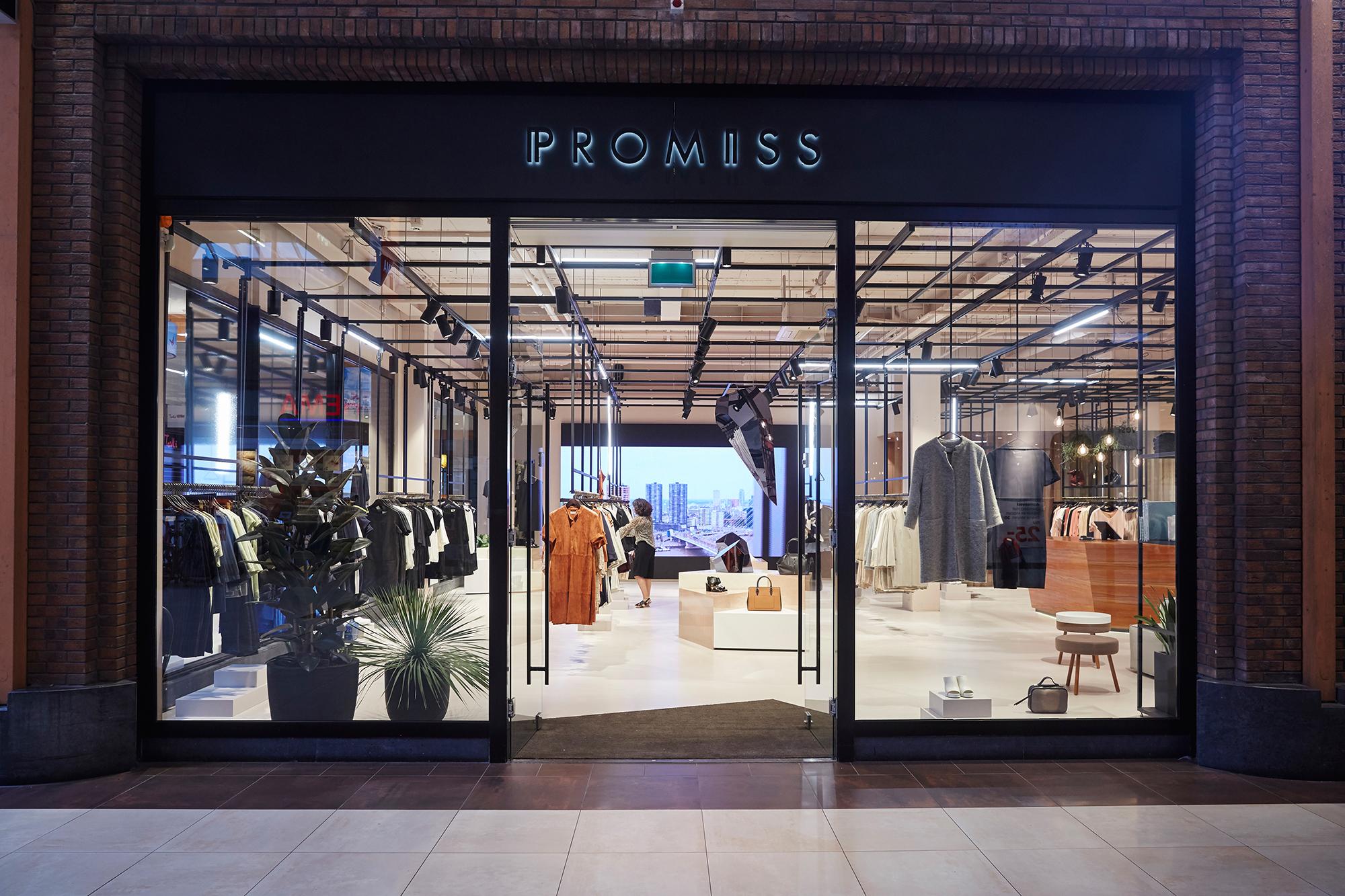 Nest interieur architecten, promiss, winkel